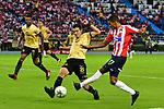 Junior igualó 1-1 (4-3 en el global) ante Rionegro Águilas. Semifinales vuelta Liga Águila II-2018.