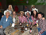 Mary Kierans, Maria Hill, Bernadette Kerr, Maura Wilson, Frances Martin, Steve Martin and Helen Mooney at the Hooley on the Hill barn Dance on the Hill of Rath. Photo:Colin Bell/pressphotos.ie
