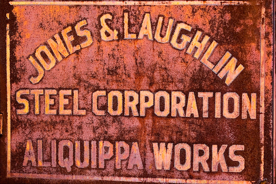 Industrial textures and abstracts - J&L Steel, Aliquippa Works