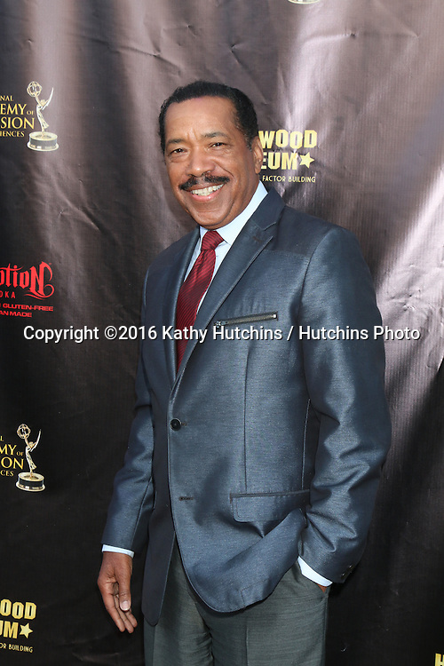 LOS ANGELES - APR 27:  Obba Babatunde at the 2016 Daytime EMMY Awards Nominees Reception at the Hollywood Museum on April 27, 2016 in Los Angeles, CA