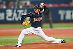 Masahiko Morifuku (JPN), .February 26, 2013 - WBC : .2013 World Baseball Classic, Exhibithion Game .match between Japan 0-1 Hanshin Tigers  .at Kyocera Dome, Osaka, Japan..(Photo by AJPS/AFLO SPORT)