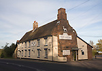 The White Hart Inn traditional public house in the village of Blythburgh, Suffolk, England