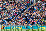 Kerry in action against  Dublin at the National League Final in Croke Park on Sunday.