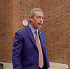 Nigel Farage <br /> UKIP Leader <br /> Resignation speech <br /> at Emmanuel Centre, Westminster, London, Great Britain <br /> 4th July 2016 <br /> <br /> The clock is ticking.....<br /> Nigel Farage <br /> <br /> <br /> Photograph by Elliott Franks <br /> Image licensed to Elliott Franks Photography Services