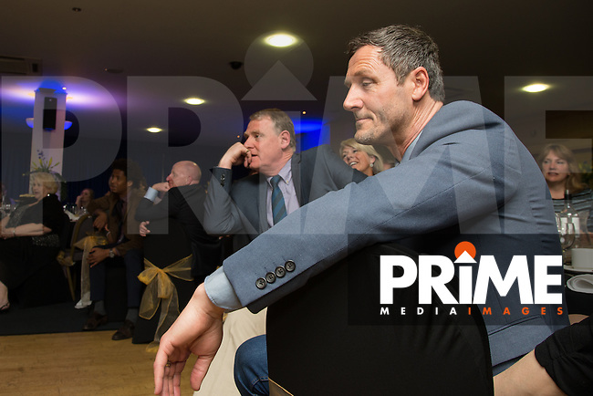 Barry Richard looks on during the Wycombe Wanderers End of Season 2016 Awards Dinner at Adams Park, High Wycombe, England on 1 May 2016. Photo by David Horn