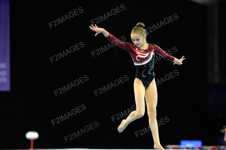 Espoirs Individual Apparatus Championships 6.12.14.Emerates Arena Glasgow.