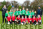Under 11 Camp Juniors travelled to Dynamos pitch Tralee where they played Dynamos last Saturday morning.