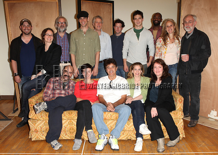 "The Cast and Creative Team of 3C.attending the Meet & Greet the Cast and Creators of David Adjmi's ""3C"" at the MTC Rehearsal Studios in New York City on 5/8/2012.."