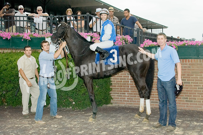 Lobo del Norte winning at Delaware Park on 7/14/12