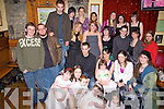 Aggie Barrett, seated second from right, from Athea celebrated her 21st birthday at the Gables Restaurant with family and friends on saturday night...   Copyright Kerry's Eye 2008