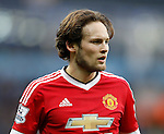 Daley Blind of Manchester United during the Barclays Premier League match at The Etihad Stadium. Photo credit should read: Simon Bellis/Sportimage