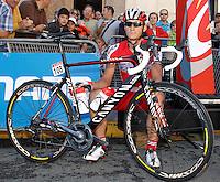 Gatis Smukulis before the stage of La Vuelta 2012 between La Robla and Lagos de Covadonga.September 2,2012. (ALTERPHOTOS/Acero) /NortePhoto.com<br /> <br /> **CREDITO*OBLIGATORIO** <br /> *No*Venta*A*Terceros*<br /> *No*Sale*So*third*<br /> *** No*Se*Permite*Hacer*Archivo**<br /> *No*Sale*So*third*