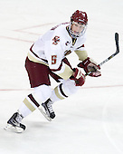 Philip Samuelsson (BC - 5) - The Boston College Eagles defeated the visiting University of Maine Black Bears 4-0 on Friday, November 19, 2010, at Conte Forum in Chestnut Hill, Massachusetts.