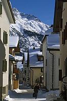 Europe/Suisse/Engadine/Celerina: Maisons