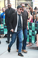 NEW YORK, NY - AUGUST 10: Robert Pattinson at AOL BUILD  on August 10, 2017 in New York City. <br /> CAP/MPI/DIE<br /> &copy;DIE/MPI/Capital Pictures