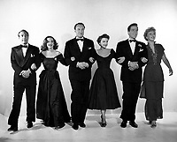 All About Eve (1950)<br /> Bette Davis, Anne Baxter, Gary Merrill, George Sanders, Celeste Holm &amp; Hugh Marlowe<br /> *Filmstill - Editorial Use Only*<br /> CAP/KFS<br /> Image supplied by Capital Pictures