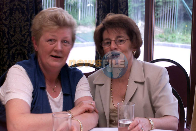 Mary Curran and Pat Gregory at teh Lady mayoress show in the Bridgeford.Picture Fran Caffrey Newsfile