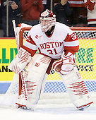 Kieran Millan (BU - 31) - The Boston University Terriers defeated the visiting Providence College Friars 2-1 on Saturday, October 23, 2010, at Agganis Arena in Boston, Massachusetts.