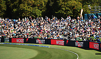 General view of fans and supporters.<br /> New Zealand Blackcaps v England. 5th ODI International one day cricket, Hagley Oval, Christchurch. New Zealand. Saturday 10 March 2018. &copy; Copyright Photo: Andrew Cornaga / www.Photosport.nz