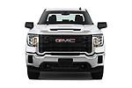 Car photography straight front view of a 2020 GMC Sierra-3500HD - 4 Door Pick-up Front View