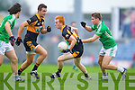 John Buckley Austin Stacks in action against Eamon Kelly Saint Kierans in the Quarter Finals of the County Championship at Austin Stack Park on Sunday.