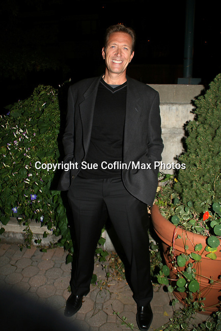 All My Children's Walt Willey at the ABC Daytime Casino Night on October 23, 2008 at Guastavinos, New York CIty, New York. (Photo by Sue Coflin/Max Photos)