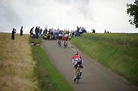 Tim Wellens (BEL/Lotto-Belisol) tries to bridge over to the breakaway group ahead on the Gulperberg<br /> <br /> Ster ZLM Tour<br /> stage 3: Buchten-Buchten (190km)