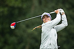 Klara Spilkova of Czech Republic tees off at the 14th hole during Round 1 of the World Ladies Championship 2016 on 10 March 2016 at Mission Hills Olazabal Golf Course in Dongguan, China. Photo by Victor Fraile / Power Sport Images