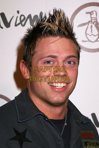 "MICHAEL ""THE MIZ"" MIZANIN.Grand Opening of ""An Original Penguin"" Store on Melrose Ave, Los Angeles, California, USA..November 2nd, 2006.Ref: ADM/BP.headshot portrait.www.capitalpictures.com.sales@capitalpictures.com.©Byron Purvis/AdMedia/Capital Pictures."