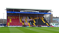 A general view of Sincil Bank, home of Lincoln City FC<br /> <br /> Photographer Andrew Vaughan/CameraSport<br /> <br /> The EFL Sky Bet League Two - Lincoln City v Port Vale - Tuesday 1st January 2019 - Sincil Bank - Lincoln<br /> <br /> World Copyright © 2019 CameraSport. All rights reserved. 43 Linden Ave. Countesthorpe. Leicester. England. LE8 5PG - Tel: +44 (0) 116 277 4147 - admin@camerasport.com - www.camerasport.com