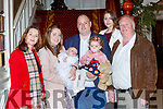 Aaron Doyle, Barradubh celebrated her christening with her parents Ciara and Shane big sister Saoirse, grandparents Brenda O'Connor and  Patrick Doyle and god mother Lorraine Doyle in the International Hotel on Saturday