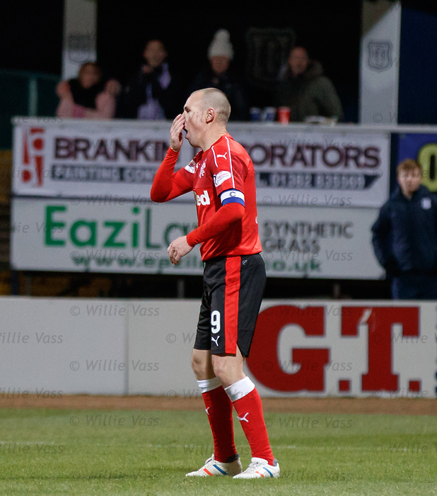 Kenny Miller can't believe he has not scored