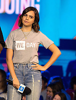 CHICAGO, IL: MAY 8: Bailee Madison speaks onstage during the 2019 WE DAY Illinois at the Allstate Arena on May 8, 2019 in Chicago, Illinois. <br /> CAP/MPI/ISDD<br /> ©MPIISDD/Capital Pictures