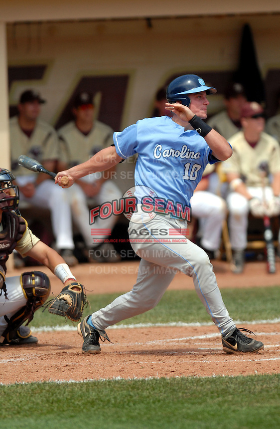 North Carolina Tar Heels' INF Kyle Seager in action vs. the Boston College Eagles  at Shea Field May 16, 2009 in Chestnut Hill, MA (Photo by Ken Babbitt/Four Seam Images)