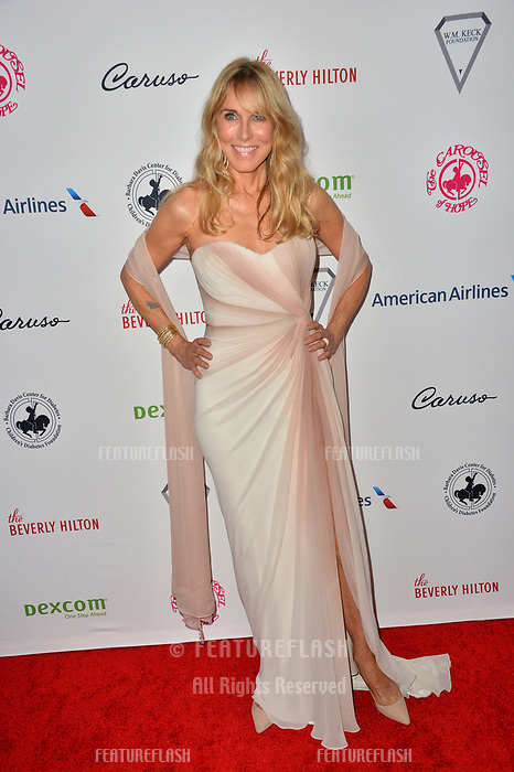 LOS ANGELES, CA. October 06, 2018: Alana Stewart at the 2018 Carousel of Hope Ball at the Beverly Hilton Hotel.<br /> Picture: Paul Smith/Featureflash