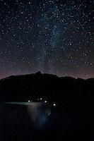 Mauvoisin Dam under the Milky Way
