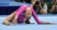 Aug 15, 2008, Beijing, China, US athlete Nastia Liukin in action during the women's individual all-around final at artistic gymnastics in the National Indoor Stadium. Liukin won the Gold medal.                   <br /> Olimpiadi Pechino 2008 Photo CSPA/Inside