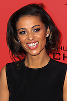 "NEW YORK, NY - NOVEMBER 20: Meta Golding at the New York Premiere Of Lionsgate's ""The Hunger Games: Catching Fire"" held at AMC Lincoln Square Theater on November 20, 2013 in New York City. (Photo by Jeffery Duran/Celebrity Monitor)"