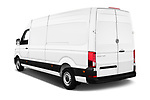 Car pictures of rear three quarter view of a 2019 Volkswagen Crafter Base 4 Door Cargo Van angular rear