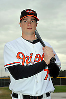 Feb 27, 2010; Tampa, FL, USA; Baltimore Orioles  infielder Blake Davis (78) during  photoday at Ed Smith Stadium. Mandatory Credit: Tomasso De Rosa