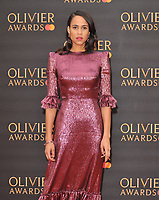 Zawe Ashton at the Olivier Awards 2019, Royal Albert Hall, Kensington Gore, London, England, UK, on Sunday 07th April 2019.<br /> CAP/CAN<br /> &copy;CAN/Capital Pictures