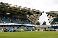General view of the action behind closed doors during Millwall vs Swansea City, Sky Bet EFL Championship Football at The Den on 30th June 2020