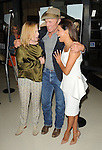 Amy Madigan, Ed Harris and Eva Longoria at the Los Angeles premiere of 'Frontera' on August 21, 2014