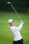 CHON BURI, THAILAND - FEBRUARY 17:  Christel Boeljon of Netherlands plays a shoot on the 16th hole during day two of the LPGA Thailand at Siam Country Club on February 17, 2012 in Chon Buri, Thailand.  Photo by Victor Fraile / The Power of Sport Images