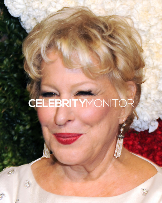 NEW YORK CITY, NY, USA - OCTOBER 16: Bette Midler arrives at the God's Love We Deliver, Golden Heart Awards held at Spring Studios on October 16, 2014 in New York City, New York, United States. (Photo by Celebrity Monitor)