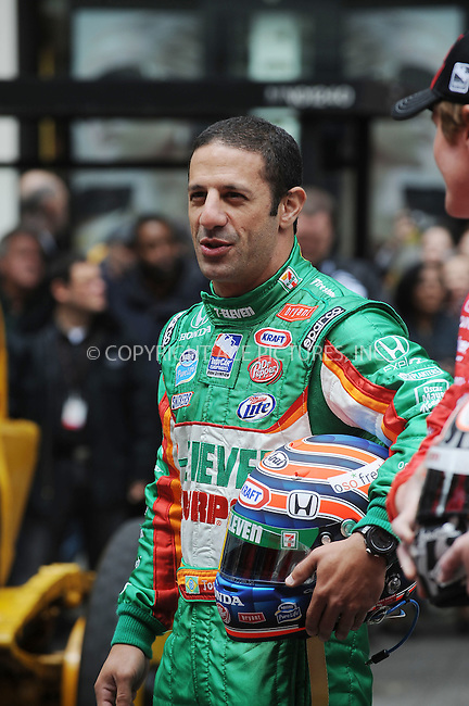 WWW.ACEPIXS.COM . . . . . ....May 17 2009, New York City......Indianapolis 500 racecar drivers  line up outside Macy's in Herald Square in the traditional 11 rows of three on May 18 2009 in New York City.......Please byline: KRISTIN CALLAHAN - ACEPIXS.COM.. . . . . . ..Ace Pictures, Inc:  ..tel: (212) 243 8787 or (646) 769 0430..e-mail: info@acepixs.com..web: http://www.acepixs.com