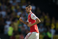 Dani Ceballos (on loan from Real Madrid) of Arsenal during the Premier League match between Watford and Arsenal at Vicarage Road, Watford, England on 16 September 2019. Photo by Andy Rowland.