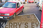 PARKING: Ashe Street on Friday...   Copyright Kerry's Eye 2008