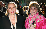 Lauren Bacall & Phyllis Newman.arriving for the Opening Night Performance of LOVEMUSIK at the Biltmore Theatre in New York City..May 3, 2007.© Walter McBride /