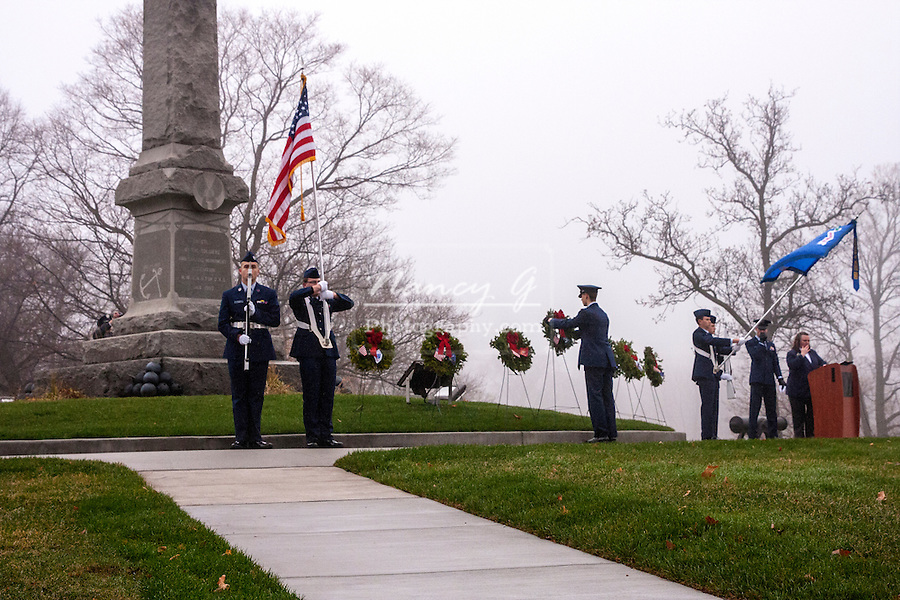Wreaths Across America Wood National Cemetery Milwaukee WI